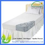 Súper suave cepillado de microfibra acolchada Protector de colchón-Queen