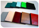 Feuille en stratifié de résine pour le panneau de couleur de fibre de bois