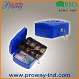 새로운 디자인 고품질 휴대용 금속 현금 상자 C-200g