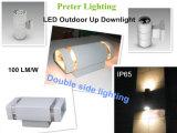 De LEIDENE Openlucht Lichte IP65 Verschillende Kleuren van de Muur in Optie