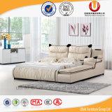 [هيغت] نوعية مريحة حديثة غرفة نوم أثاث لازم جلد سرير ([أول-فت811ا])