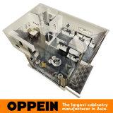 Mobilia ben attrezzata comoda moderna della camera da letto dell'hotel di appartamento di Oppein (OP16-HOTEL03)
