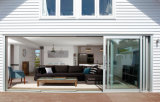 Porte coulissante en aluminium de vente chaude pour la salle de séjour avec la glace Inférieure-e