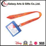 Напечатанный шелковой ширмой талреп владельца карточки удостоверения личности PVC материала полиэфира