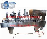高出力の線形自動コップのシーリング機械