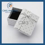 Cadre de papier de beau bijou blanc élégant (CMG-PJB-026)