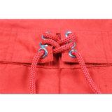 Краткости боксера Mens холстины хлопка Sportswear способа Guangdong красные