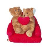 Игрушки медведя венчания сердца влюбленности плюша
