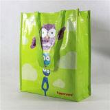 Sacchi tessuti pp riutilizzabili, sacchi di Tote, sacchi di acquisto (MECO147)