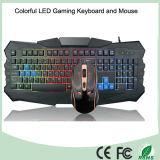 Teclado colorido de venda superior do jogo do computador do luminoso do diodo emissor de luz (KB-903EL-C)
