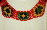 かぎ針編みカラーが付いている女性の冬のプルオーバーのニットウェア
