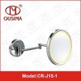 Specchio d'profilatura fissato al muro accessorio di trucco della stanza da bagno