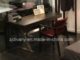 Итальянское самомоднейшее деревянное кожаный кресло (C-49)