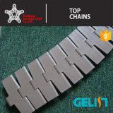 cinta transportadora del diente 880tab/encadenamiento plástico de la tapa de vector/encadenamiento Sideflexing