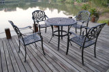 Fundición de aluminio resistente a la corrosión muebles del patio