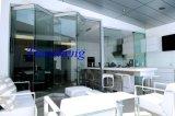 Portas de dobradura de vidro de Frameless, portas interiores de Frameless, portas de vidro
