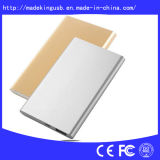 Slim Aluminium Alloy Portable 4000mAh Power Bank avec Dual Output