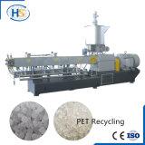 WPC Plastikkörnchen-Strangpresßling-Maschine mit Luftkühlung-Zeile