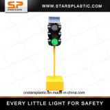 Semafori mobili solari del LED