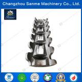 Grandes peças feitas à máquina CNC feitas sob encomenda da fundição de aço para Shell