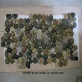 Qualitäts-graue Mosaik-Kiesel-Fliesen