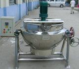 De Kokende Ketel van de jam/de Ketel van het Jasje voor Industrie van de Melk
