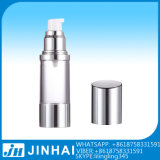 bottiglia senz'aria cosmetica 50ml per lozione che impacca, contenitori di memoria di plastica