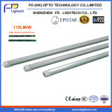 2016년 중국 Manufacturer 1200mm Best Price 18W T8 LED Tube