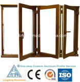 Perfiles profesionales de aluminio para ventana y marco de la puerta