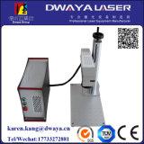 prix de machine d'inscription de laser en métal de la fibre 10W de boucle