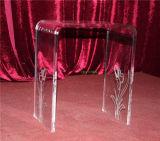 """Jogo de luxe do banco da cachoeira, mobília acrílica, tabela acrílica, cadeira acrílica da forma de """"U"""""""