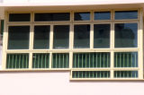 El mejor doble Windows de aluminio de cristal del precio de la capa externa del polvo