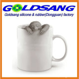 Цветастый чай Infuser силикона формы лени