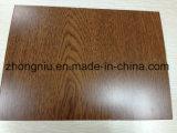 木の質のカラーによって塗られる鋼鉄コイル