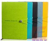 Productos del fabricante de China todas las clases del cuaderno de papel, cuaderno caliente del cuero de la venta con la pluma