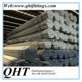 Stockの熱いDipped Galvanized BS1387 Steel Tube