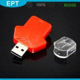 Kleidung geformt L ABS kundenspezifisches Firmenzeichen USB-Blitz-Laufwerk für freie Probe