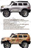 401-1/10 carro de escalada completo de 2.4G RC com 4WD fora - modelo do veículo de estrada - nós plugue