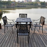 Gussaluminium-Garten-Möbel-Dubai-Patio, der gesetzte gute Qualität speist