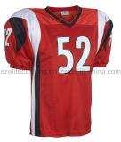 Uniforme du football de polyester de qualité d'équipe (ELTAFJ-10)