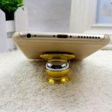 360度の金属の調節可能な磁気携帯電話車のホールダーの台紙