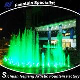 Fontaine d'eau colorée de danse de RVB