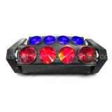 RGBW를 가진 최신 판매 8PCS 10W 크리 사람 거미 이동하는 헤드 또는 단계 점화 (ICON-M080A)를 위한 백색 색깔