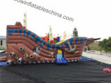 Kidsのための費用有効PersonalかCommercial Inflatable Pirate Boat