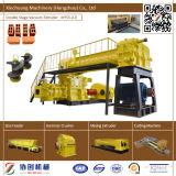 赤い土の煉瓦作成機械自動粘土の煉瓦機械