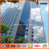External Wall (AE-201)를 위한 호주 Cladding Silver Mirror Aluminium Composite Panel