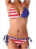 Kundenspezifische Qualität Lycra/Polyester-Bikini