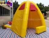 屋外のための黄色く膨脹可能なブースのテント