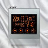 Marco de acrílico de la calefacción por el suelo del termóstato del interruptor programable del tacto (SK-HV100L8-L/M-W)