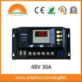 (HM-4830B) regulador de la energía solar de 48V 30A LED